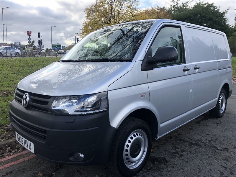 used VW Transporter T28 Tdi SWB in Silver with Air Conditioning, Fabulous Condition in walsall
