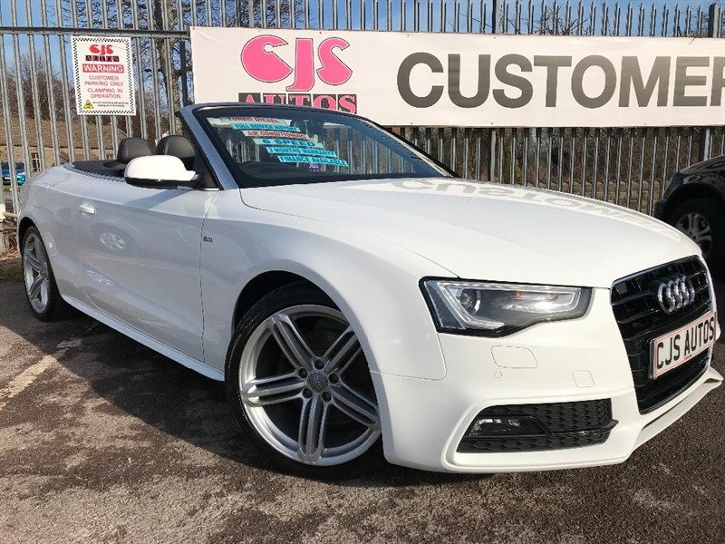 used Audi A5 Cabriolet TDI Special Edition 2dr in Bedminster-Bristol