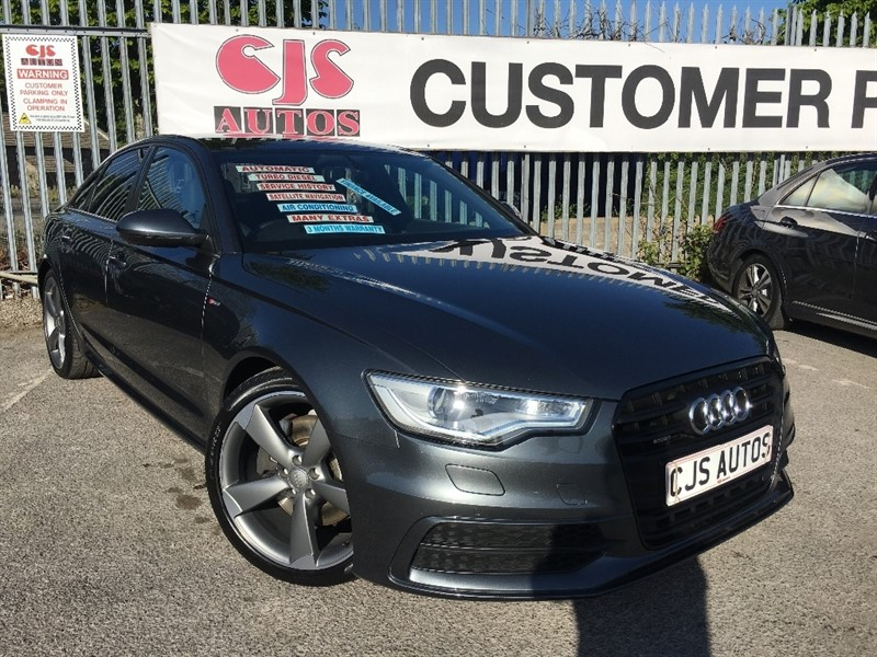 used Audi A6 Saloon TDI Black Edition S Tronic Quattro 4dr in Bedminster-Bristol