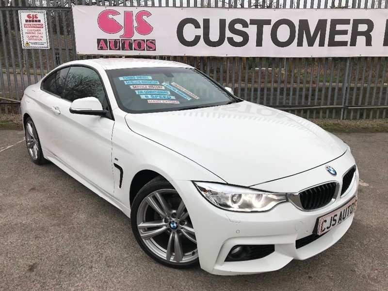used BMW 420d 4 Series M Sport 2dr in Bedminster-Bristol