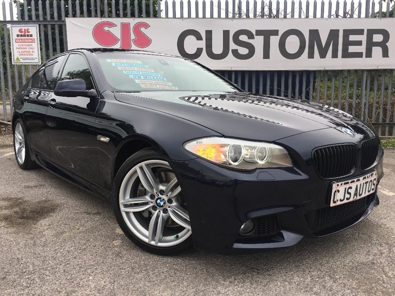 used BMW 530d 5 Series M Sport 4dr in Bedminster-Bristol