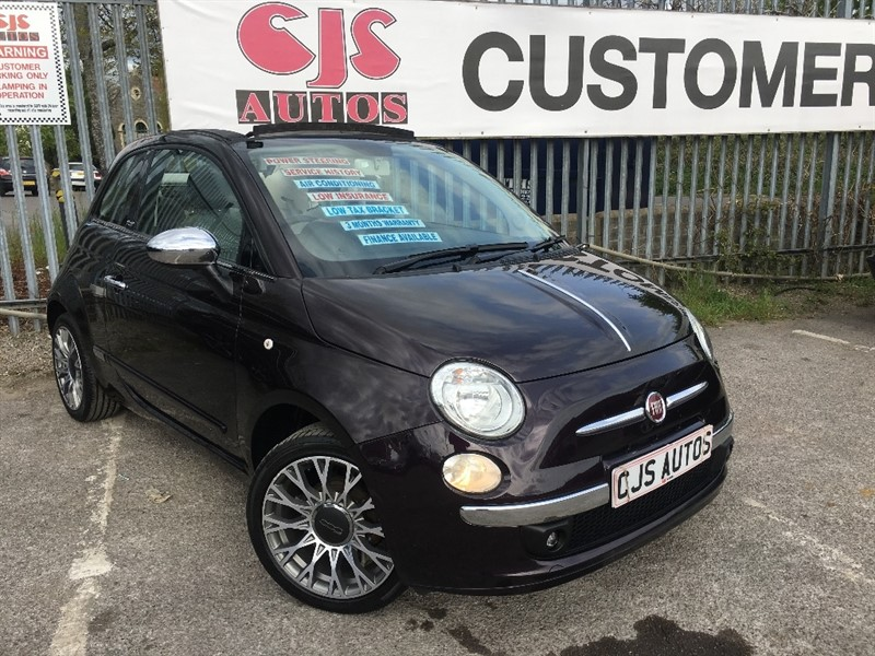 used Fiat 500C 1.2 Lounge 2dr in Bedminster-Bristol
