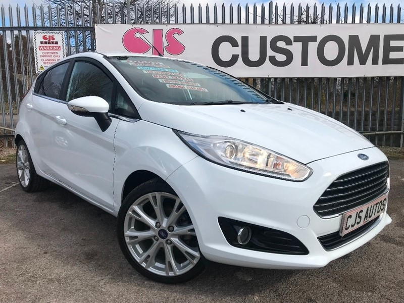 used Ford Fiesta EcoBoost Titanium X (s/s) 5dr in Bedminster-Bristol