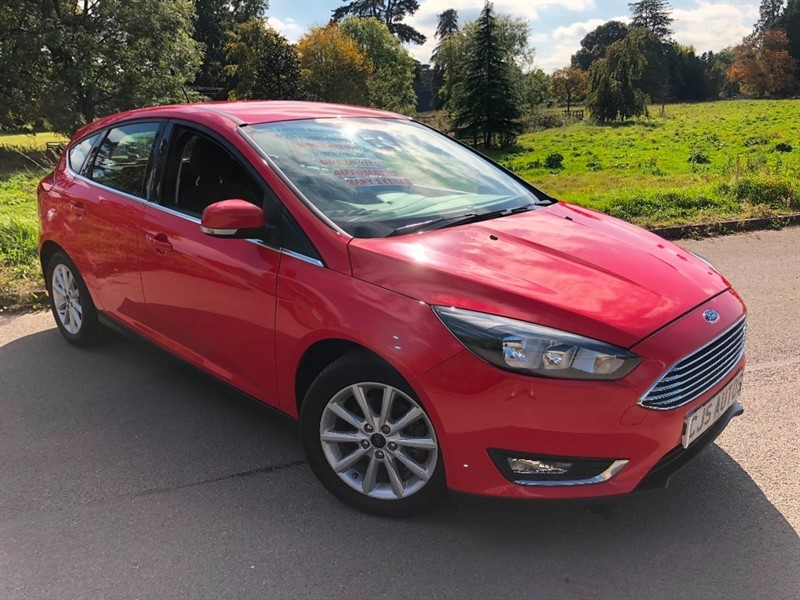used Ford Focus Ti-VCT Titanium Powershift 5dr in Bedminster-Bristol
