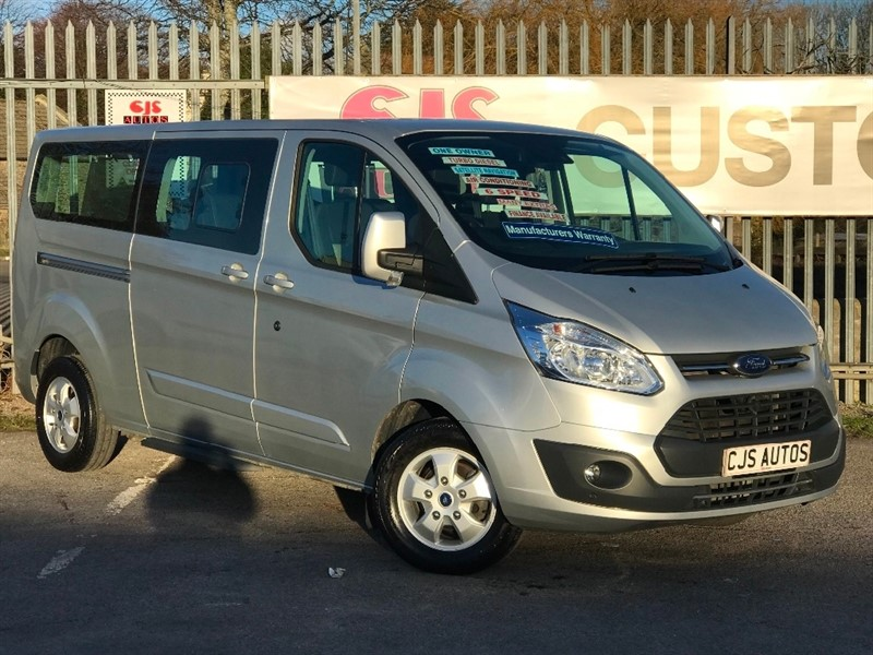 used Ford Tourneo Custom 2.0 TDCi 310 L2 Titanium Shuttle Bus 5dr (9 Seats) in Bedminster-Bristol