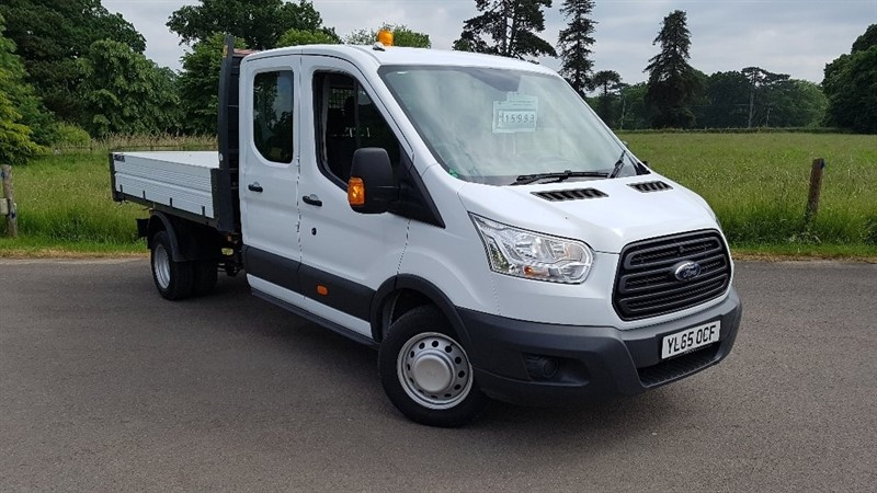 used Ford Transit TDCi 350 L3H1 Double Cab Chassis RWD 4dr in Bedminster-Bristol