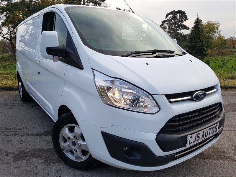 used Ford Transit Custom TDCi 290 L2H2 Limited Panel Van 5dr (EU6) in Bedminster-Bristol