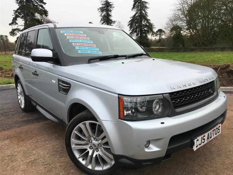 used Land Rover Range Rover Sport TD V6 HSE 5dr in Bedminster-Bristol