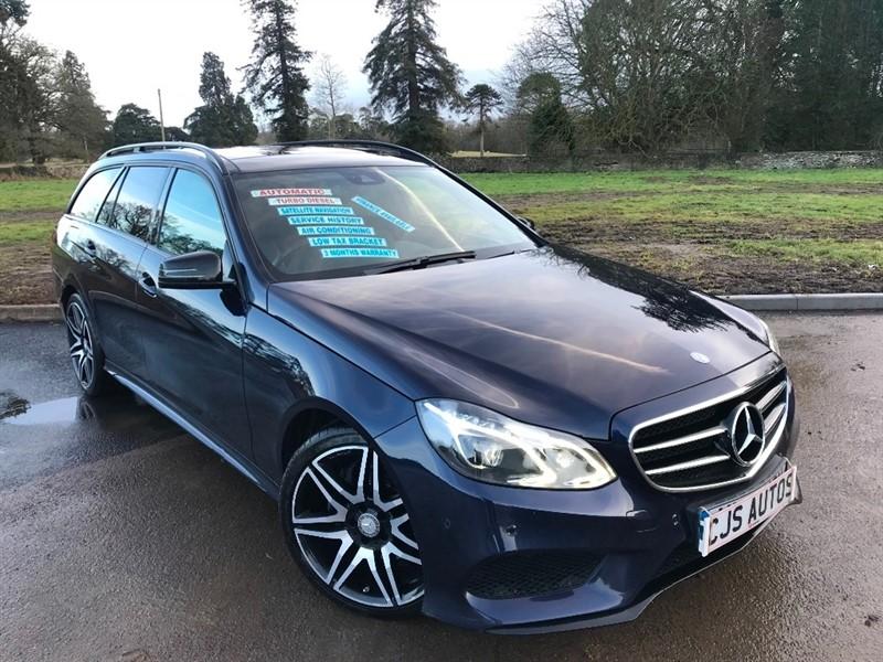 used Mercedes E300 E Class CDI BlueTEC AMG Night Edition (Premium) 7G-Tronic Plus 5dr in Bedminster-Bristol