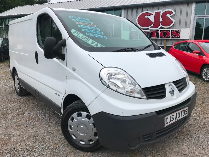 used Renault Trafic dCi eco SL29 Phase 3 Panel Van 3dr (EU5, Nav) in Bedminster-Bristol