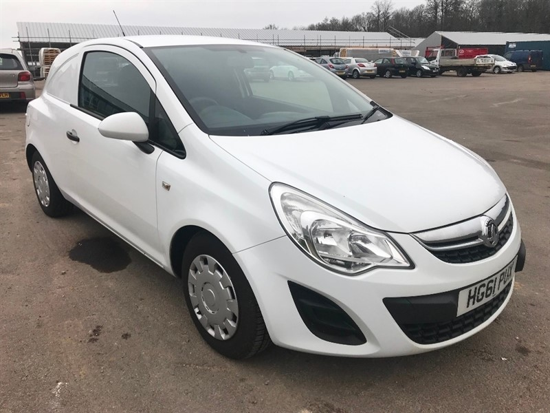 Vauxhall Corsa Van for sale