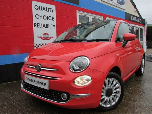 used Fiat 500 LOUNGE, SAT-NAV, GLASS ROOF, STUNNING in aylesbury-buckinghamshire