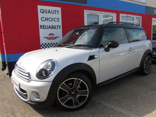 used MINI Clubman COOPER D SOHO, SAT-NAV, SPECIAL EDITION in aylesbury-buckinghamshire