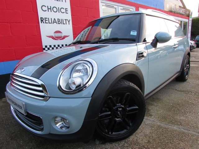 "used MINI Clubvan ONE, ""NOW SOLD SIMILAR REQUIRED"" in aylesbury-buckinghamshire"