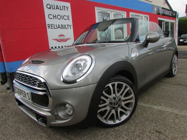 used MINI Convertible NOW SOLD BUT SIMILAR REQUIRED in aylesbury-buckinghamshire