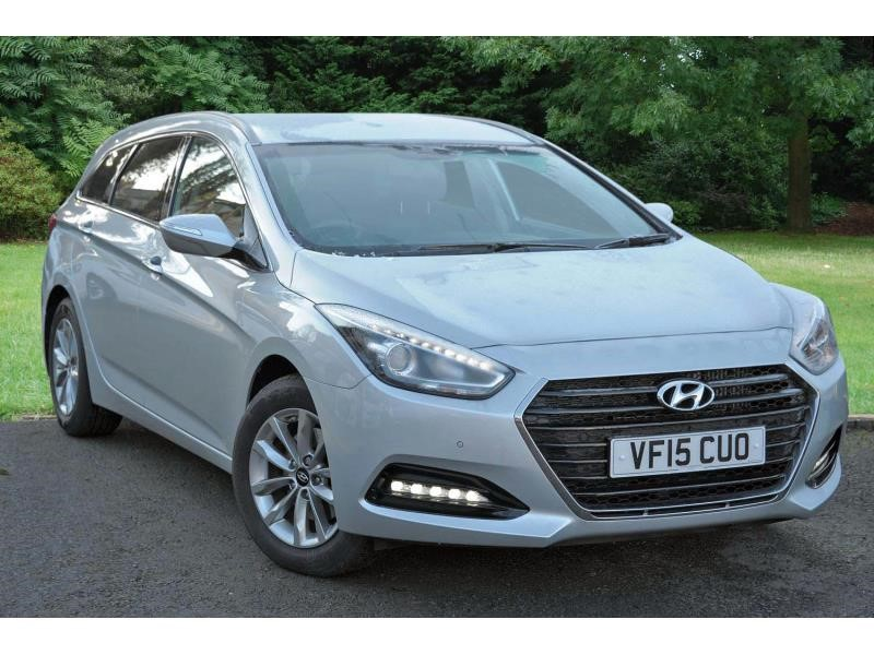 used Hyundai i40 Tourer CRDi SE Nav Business Blue Drive (141ps) in bromsgrove