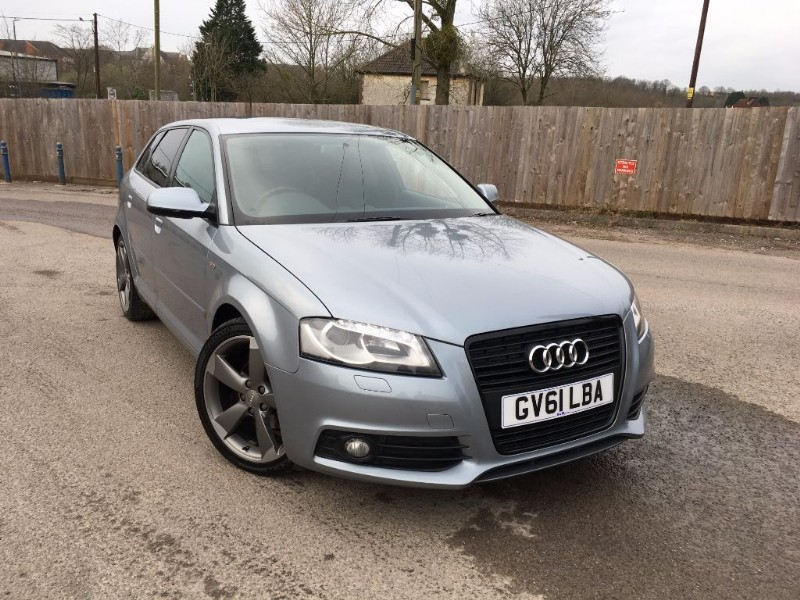 used Audi A3 BLACK LTD S/LINE in bristol