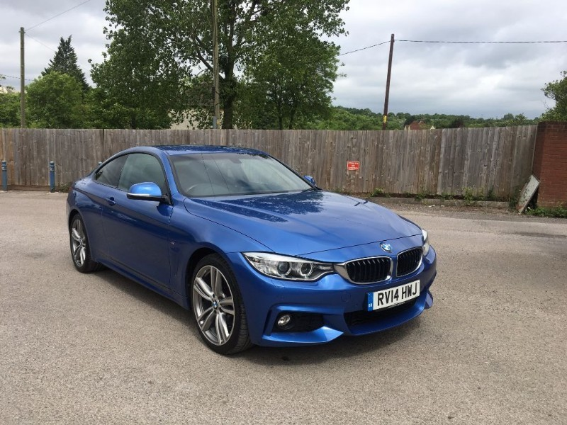 used BMW 420d XDRIVE M SPORT ONE OWNER FROM NEW in bristol