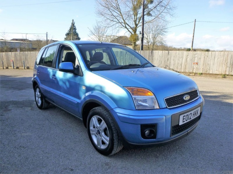 used Ford Fusion ZETEC in bristol