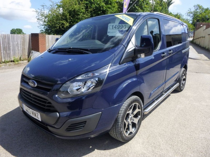 used Ford Transit Custom 270 LR P/V ECHO TEC in bristol