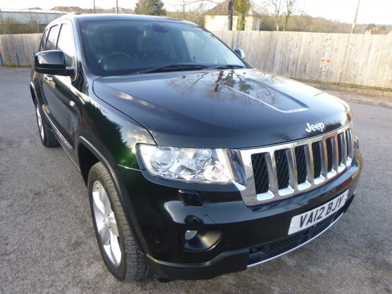 used Jeep Grand Cherokee V6 CRD OVERLAND in bristol