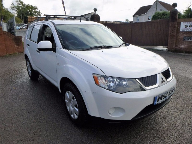 used Mitsubishi Outlander 4WORK LWB CDV in bristol
