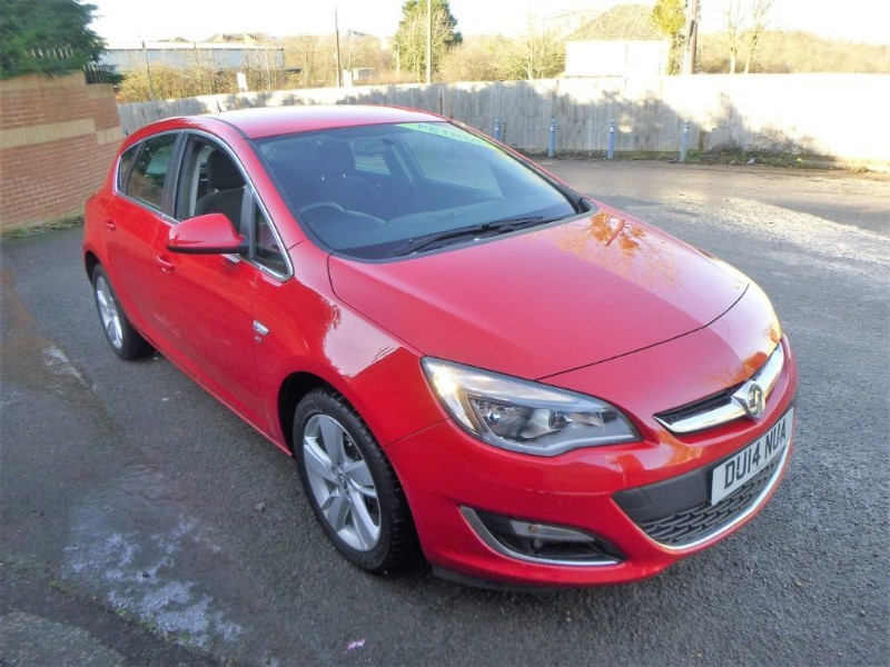 used Vauxhall Astra SRI in bristol