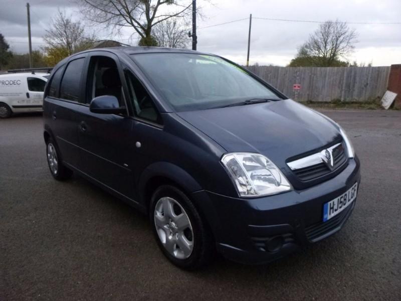 used Vauxhall Meriva BREEZE 16V in bristol