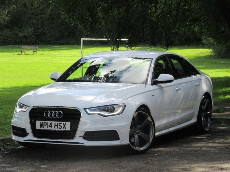 used Audi A6 Saloon TDI ultra S Line Tronic 4dr in cardiff-glamorgan