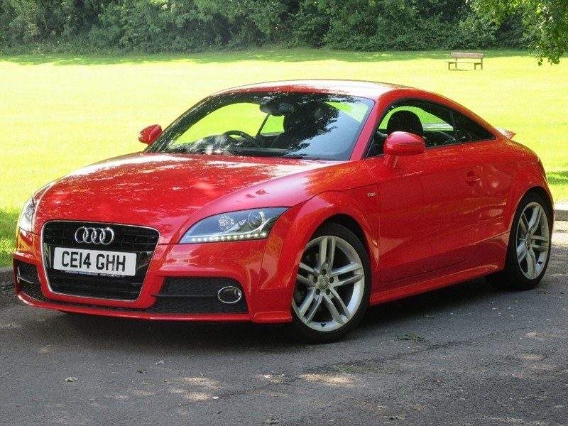 used Audi TT TFSI S Line Tronic 3dr in cardiff-glamorgan