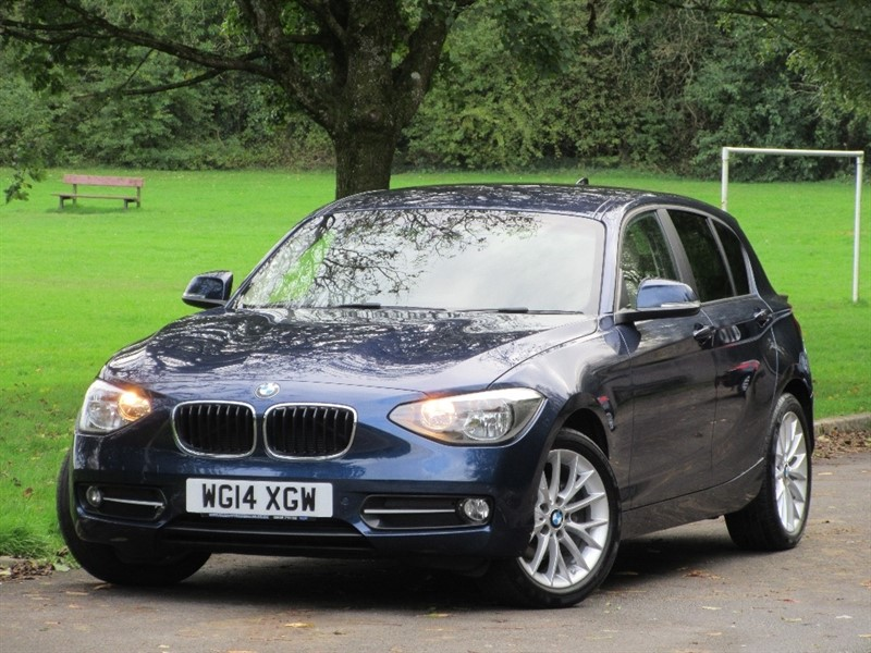 used BMW 118d 1 Series Sport Sports Hatch 5dr (start/stop) in cardiff-glamorgan
