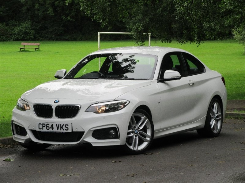 used BMW 225d 2 Series M Sport Auto 2dr (start/stop) in cardiff-glamorgan