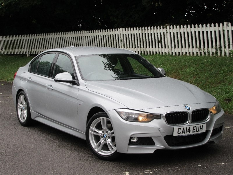used BMW 318d 3 Series M Sport 4dr (start/stop) in cardiff-glamorgan