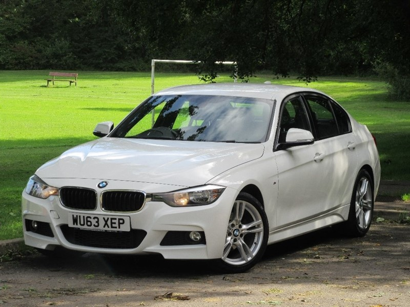 used BMW 320d 3 Series M Sport 4dr (start/stop) in cardiff-glamorgan