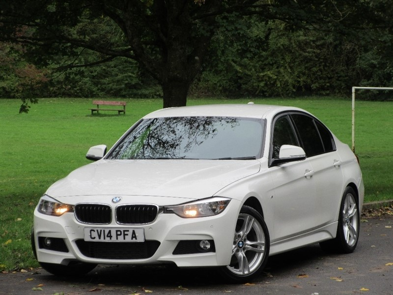 used BMW 325d 3 Series M Sport 4dr (start/stop) in cardiff-glamorgan