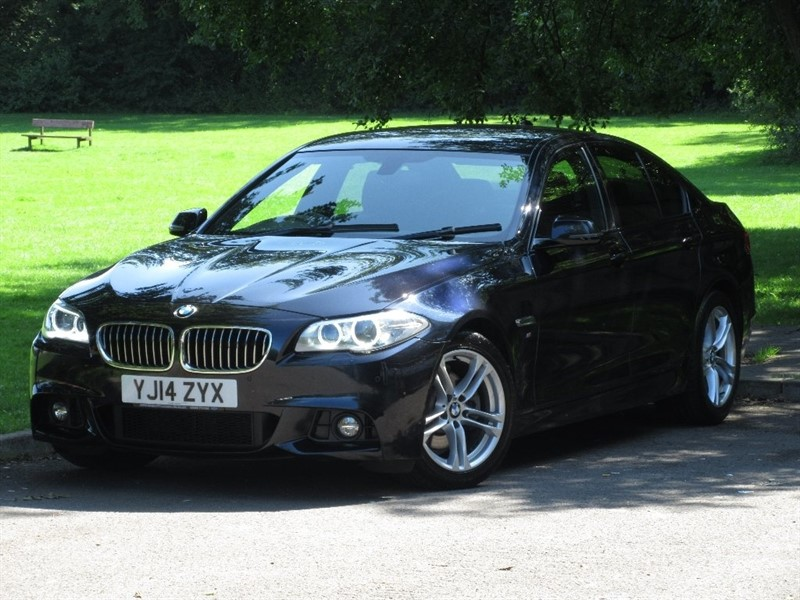 used BMW 520d 5 Series M Sport 4dr in cardiff-glamorgan