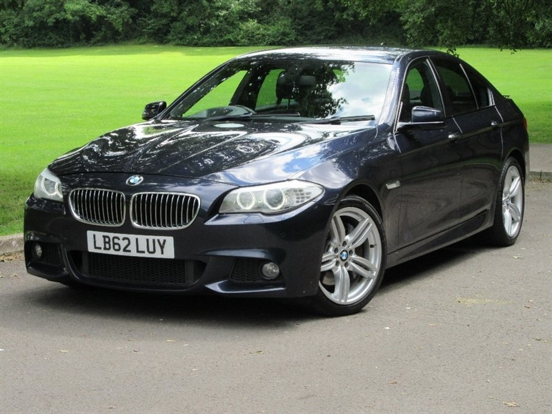 used BMW 535d 5 Series M Sport 4dr in cardiff-glamorgan