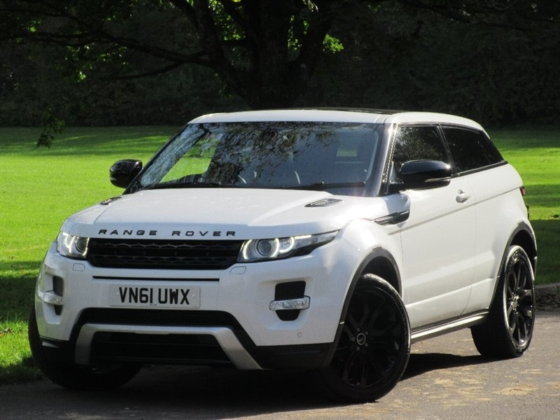 used Land Rover Range Rover Evoque SD4 Dynamic Coupe 4x4 3dr in cardiff-glamorgan