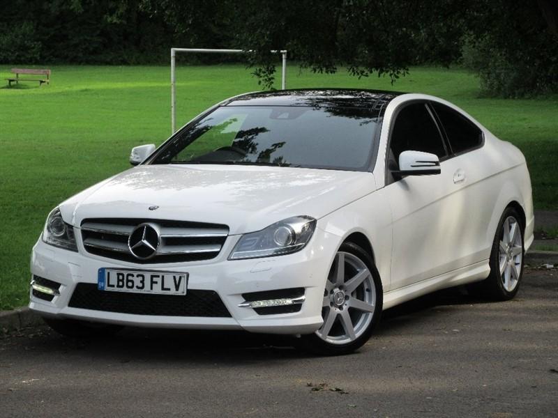 used Mercedes C180 C Class AMG Sport (Premium Plus) 7G-Tronic Plus 2dr in cardiff-glamorgan