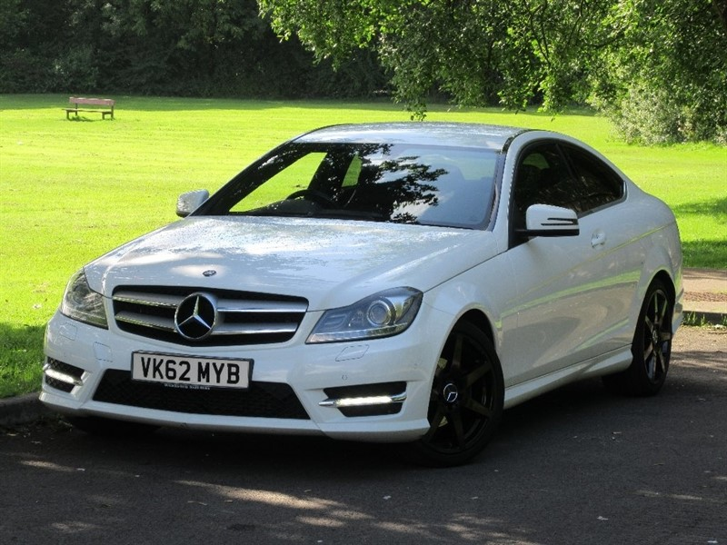used Mercedes C250 C Class CDI AMG Sport 7G-Tronic Plus 2dr in cardiff-glamorgan