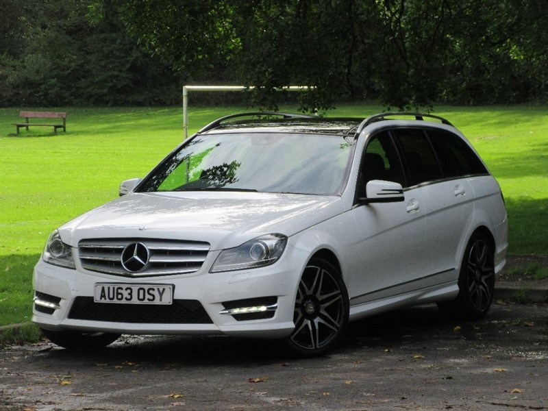 used Mercedes C350 C Class CDI AMG Sport Plus 7G-Tronic 5dr in cardiff-glamorgan