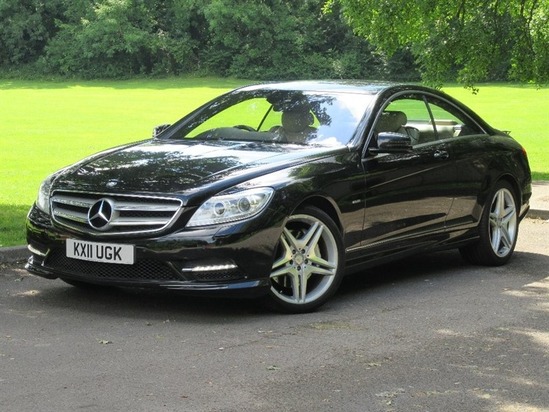 used Mercedes CL500 CL BlueEFFICIENCY 7G-Tronic 2dr in cardiff-glamorgan