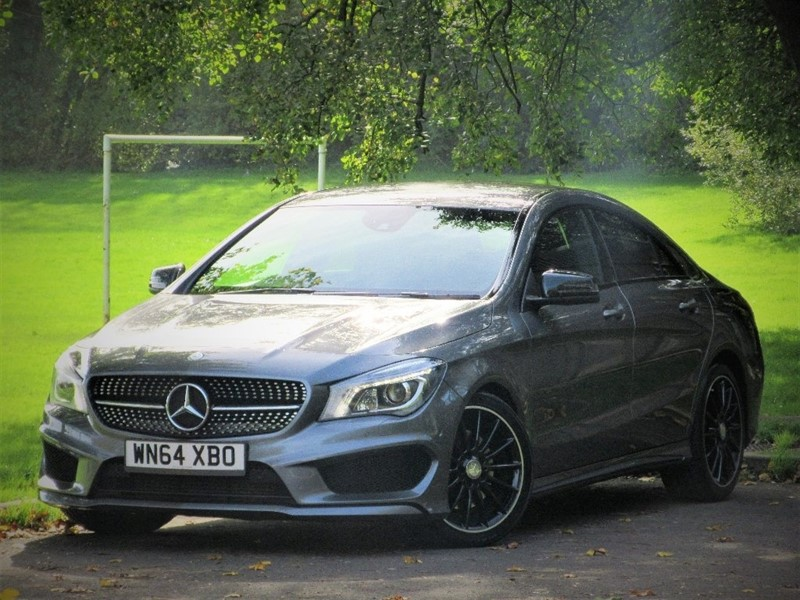 used Mercedes CLA 220 CLA Class CDI AMG Sport 7G-DCT 4dr (start/stop) in cardiff-glamorgan