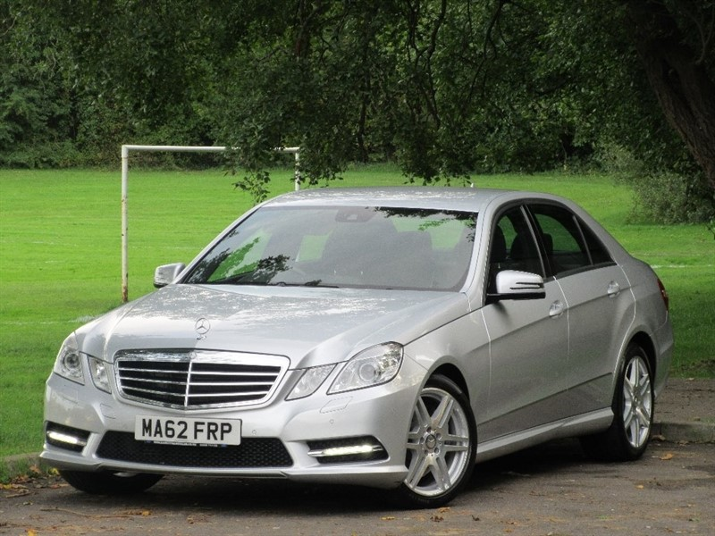 used Mercedes E350 E Class CDI BlueEFFICIENCY Sport 7G-Tronic Plus 4dr (start/stop) in cardiff-glamorgan