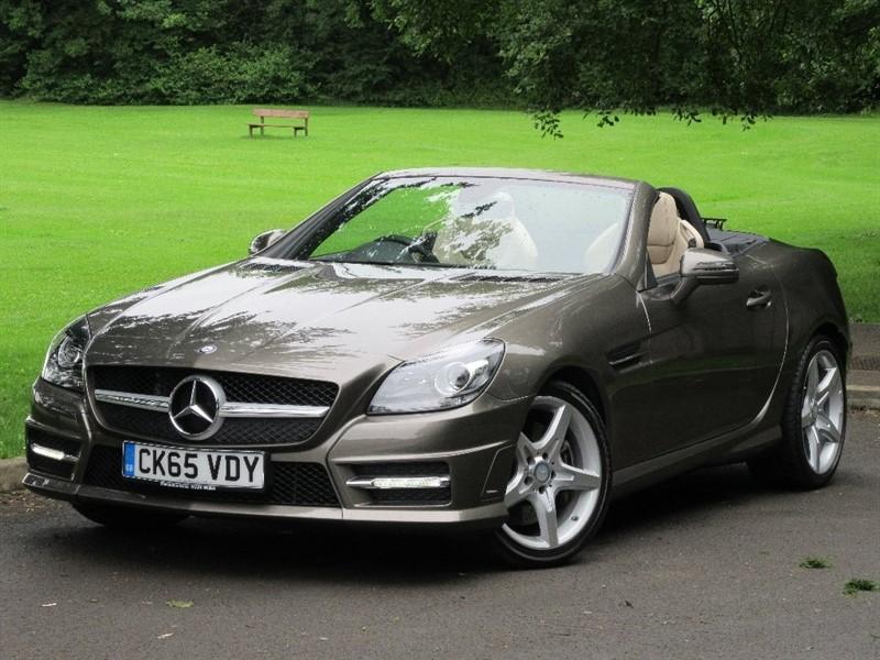 used Mercedes SLK SLK200 AMG Sport 2dr (start/stop) in cardiff-glamorgan