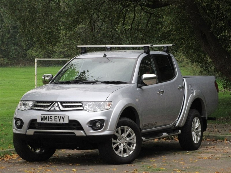 used Mitsubishi L200 DI-D CR Warrior Double Cab Pickup 4WD 4dr in cardiff-glamorgan