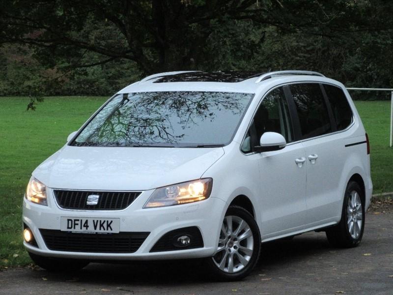 used SEAT Alhambra TDI SE Lux DSG 5dr (start/stop) in cardiff-glamorgan