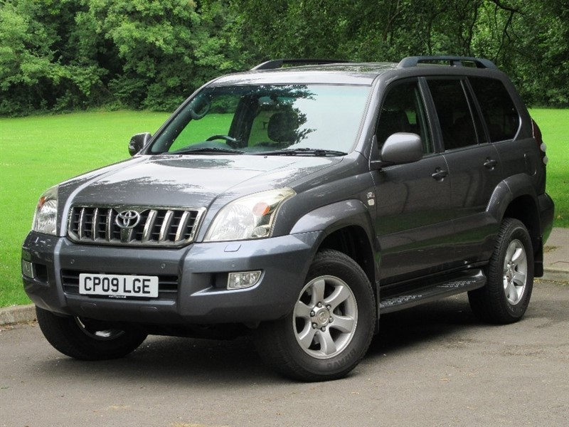 used Toyota Land Cruiser D-4D Invincible 5dr in cardiff-glamorgan