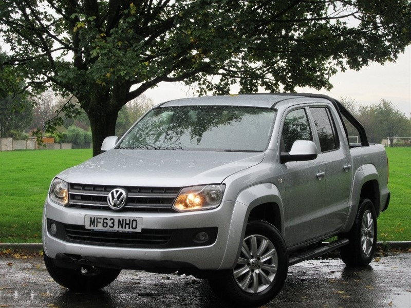 used VW Amarok BiTDi BlueMotion Tech Edition Per Pickup 4Motion 4dr in cardiff-glamorgan