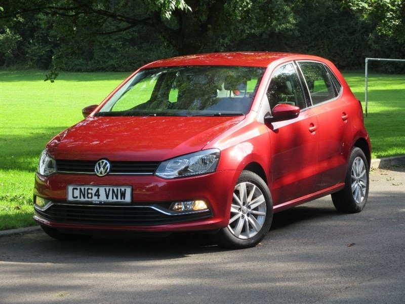 used VW Polo TSI BlueMotion Tech SE Hatchback 5dr (start/stop) in cardiff-glamorgan